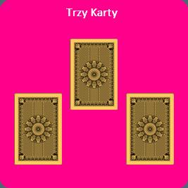 Darmowy Tarot rozkład na trzy karty