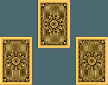 Rozkład tarota na trzy karty